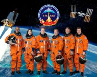 STS-133 Official NASA Crew Portrait (Actual)